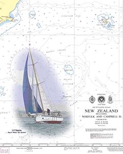 NGA Charts: Region 2 - Central, South America, Waterproof NGA Chart 21008: Golfo de California Northern Part