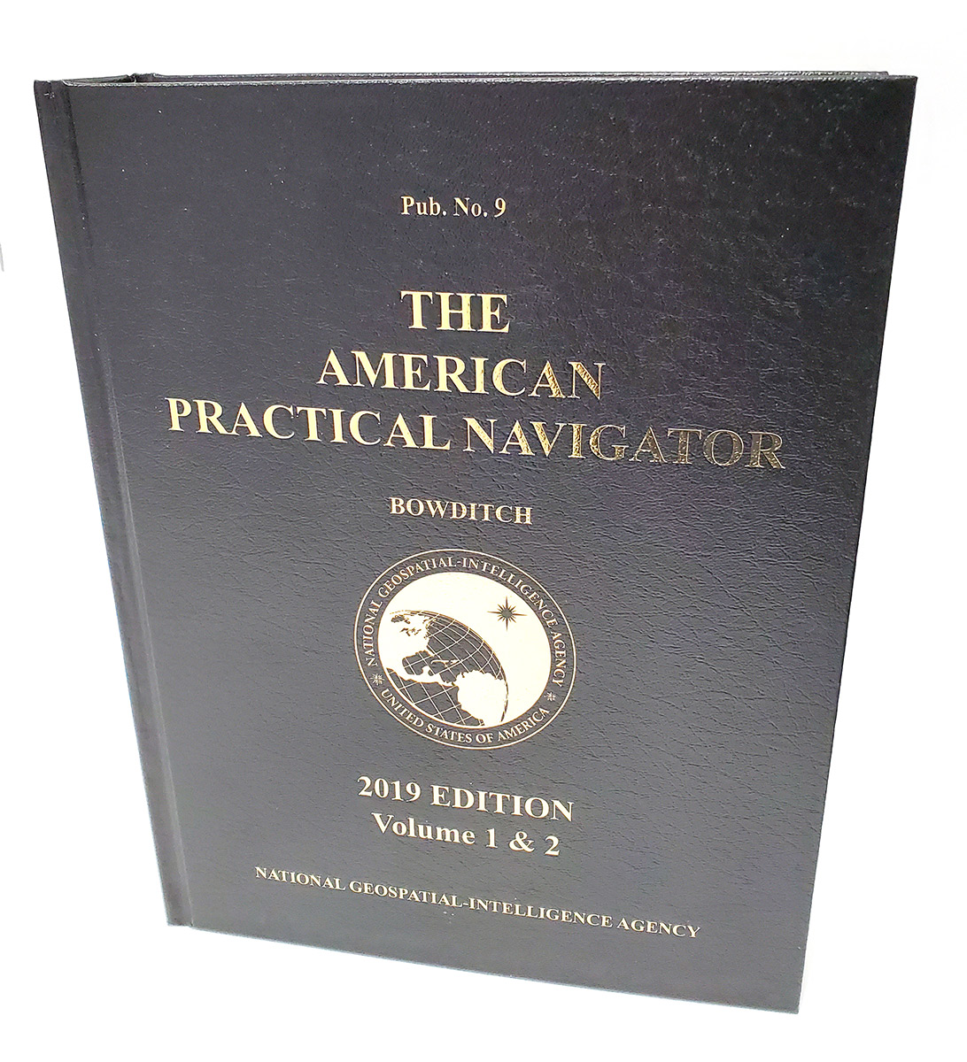 "Nautical Publications, American Practical Navigator ""Bowditch"" 2019 Vol. 1 & 2 HARDCOVER"