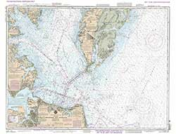 Mariner Training, NOAA Training Chart 12221 TR: Chesapeake Bay Entrance
