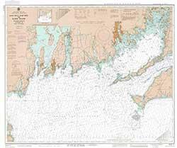 Mariner Training, NOAA Training Chart 1210 TR: MARTHA'S VINEYARD TO BLOCK ISLAND