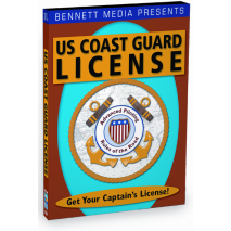 Mariner Training, Coast Guard License:  Advanced Piloting & Rules of the Road (DVD)