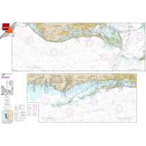 Small Format NOAA Charts, Small Format NOAA Chart 11411: Intracoastal Waterway Tampa Bay to Port Richey