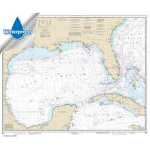 Waterproof NOAA Charts, Waterproof NOAA Chart 411: Gulf of Mexico