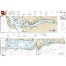 Small Format NOAA Charts, Small Format NOAA Chart 11427: Intracoastal Waterway Fort Myers to Charlotte Harbor and Wiggins Pass