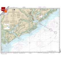 Small Format NOAA Charts, Small Format NOAA Chart 11521: Charleston Harbor and Approaches
