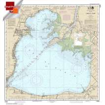 NOAA Great Lakes charts, Small Format NOAA Chart 14850: Lake St. Clair