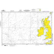 NGA Charts: Miscellaneous, NGA Chart 102: Western Apprs. to the British Isles