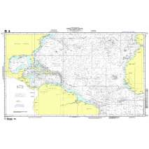 NGA Charts: Miscellaneous, NGA Chart 12: North Atlantic Ocean - N Am to Africa