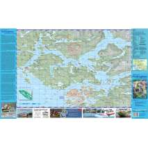 Kayaks, Canoes, Small Craft, Broughton Archipelago and Johnstone Strait Recreation Map and Trip Planner