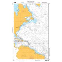 NGA Charts: Miscellaneous, NGA Chart 13: North Atlantic Ocean - Western Portion
