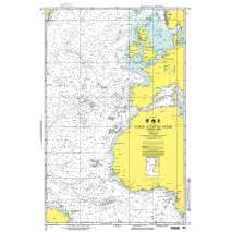NGA Charts: Miscellaneous, NGA Chart 14: North Atlantic Ocean - Eastern Portion