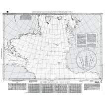 NGA Charts: Miscellaneous, NGA Chart 17: Great Circle Sailing Chart No. Atlantic