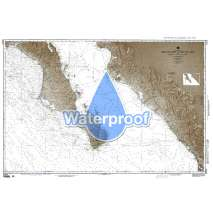NGA Charts: Region 2 - Central, South America, Waterproof NGA Chart 21014: Mexico West Coast Cabo San Lazaro to Cabo San Lucas and Southern Part of Golfo de Californa