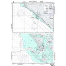 NGA Charts: Region 2 - Central, South America, NGA Chart 21525: Corinto and Approaches