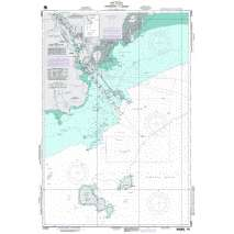 NGA Charts: Region 2 - Central, South America, NGA Chart 21603: Approaches to Balboa