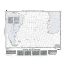 NGA Charts: Miscellaneous, NGA Chart 24: Great Circle Sailing Chart of South America