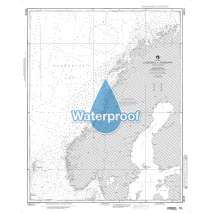 NGA Charts: Region 4 - Scandinavia, Northern Russia, Waterproof NGA Chart 43015: Norway Lindesnes to Nordkapp