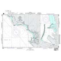 NGA Charts: Region 5 - Western Africa, Mediterranean, Black Sea, NGA Chart 54091: Bar Harbor and Approaches