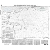 NGA Charts: Miscellaneous, NGA Chart 56: Great Circle Sailing Chart of N. Pacific Ocean