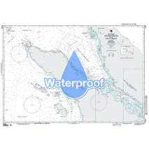 NGA Charts: Region 7 - South East Asia, Indonesia, New Guinea, Australia, Waterproof NGA Chart 71005: Northwest Sumatera & Str. of Malacca