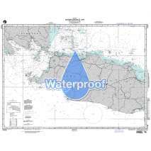 NGA Charts: Region 7 - South East Asia, Indonesia, New Guinea, Australia, Waterproof NGA Chart 71018: Western Portion of Jawa