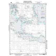 NGA Charts: Region 7 - South East Asia, Indonesia, New Guinea, Australia, NGA Chart 71033: W. Part Java Sea So Passages to China