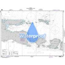 NGA Charts: Region 7 - South East Asia, Indonesia, New Guinea, Australia, Waterproof NGA Chart 72035: Eastern Portion of Jawa