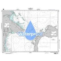 NGA Charts: Region 7 - South East Asia, Indonesia, New Guinea, Australia, Waterproof NGA Chart 72173: Makassar Strait - North Part