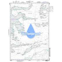 NGA Charts: Region 7 - South East Asia, Indonesia, New Guinea, Australia, Waterproof NGA Chart 73000: Laut Maluku (Molucca Sea) to Timor