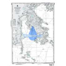 NGA Charts: Region 7 - South East Asia, Indonesia, New Guinea, Australia, Waterproof NGA Chart 73008: Kepulauan Bone Rate to Selat Peleng