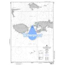 NGA Charts: Region 7 - South East Asia, Indonesia, New Guinea, Australia, Waterproof NGA Chart 73018: Western Part of Pulau Seram With Pulau Buru & Pulau Obi