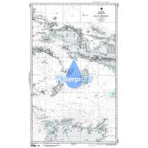 NGA Charts: Region 7 - South East Asia, Indonesia, New Guinea, Australia, Waterproof NGA Chart 73020: Halmahera to Gulf of Carpentaria
