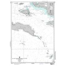 NGA Charts: Region 7 - South East Asia, Indonesia, New Guinea, Australia, NGA Chart 73022: West Coast Of Irian Jaya (New Guinea) to Pulau Seram