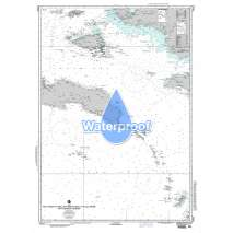 NGA Charts: Region 7 - South East Asia, Indonesia, New Guinea, Australia, Waterproof NGA Chart 73022: West Coast of Irian Jaya (New Guinea) to Pulau Seram