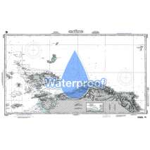 NGA Charts: Region 7 - South East Asia, Indonesia, New Guinea, Australia, Waterproof NGA Chart 73034: Waigeo to Teluk Dore