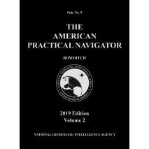 "American Practical Navigator - Bowditch Editions, American Practical Navigator ""Bowditch"" 2019 Vol. 2 PAPERBACK"