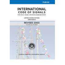 Flags, Signals & Language, PUB 102: International Code of Signals 2003 (Current as of 2019)