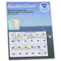 8.5 x 11 BookletCharts, NOAA BookletChart 11425: Intracoastal Waterway Charlotte Harbor to Tampa Bay