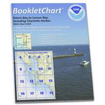 "8.5 x 11 BookletCharts, NOAA BookletChart 11426: Estero Bay to Lemon Bay: Including Charlotte Harbor, Handy 8.5"" x 11"" Size. Paper Chart Book Designed for use Aboard Small Craft"