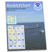 8.5 x 11 BookletCharts, NOAA BookletChart 11460: Cape Canaveral to Key West