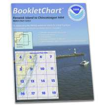 8.5 x 11 BookletCharts, NOAA BookletChart 12211: Fenwick Island to Chincoteague Inlet;Ocean City Inlet
