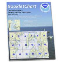 8.5 x 11 BookletCharts, NOAA BookletChart 12270: Chesapeake Bay Eastern Bay and South River; Selby Bay