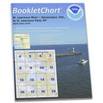 8.5 x 11 BookletCharts, NOAA BookletChart 14773: Gananoque: ONT.: to St. Lawrence Park. N.Y.