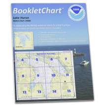 "8.5 x 11 BookletCharts, NOAA BookletChart 14860: Lake Huron, Handy 8.5"" x 11"" Size. Paper Chart Book Designed for use Aboard Small Craft"