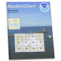 8.5 x 11 BookletCharts, NOAA BookletChart 14961: Lake Superior (Mercator Projection)