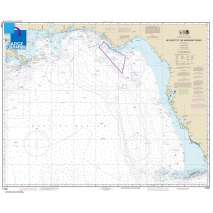 Traditional NOAA Charts, Large Format NOAA Chart 11006: Key West to Mississippi River