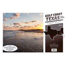 Chartbooks & Cruising Guides, Gulf Coast Texas to Mississippi Chart Atlas (12x18 Spiral-Bound)