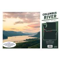 NOAA Pacific Coast charts, Columbia River Chart Atlas (12x18 Spiral-Bound)