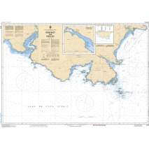 Pacific Region, CHS Chart 3410: Sooke Inlet to/à Parry Bay