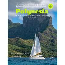 Pacific Ocean & Islands, Charlie's Charts: POLYNESIA 8th Edition